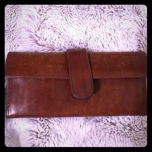 HOBO brown leather wallet